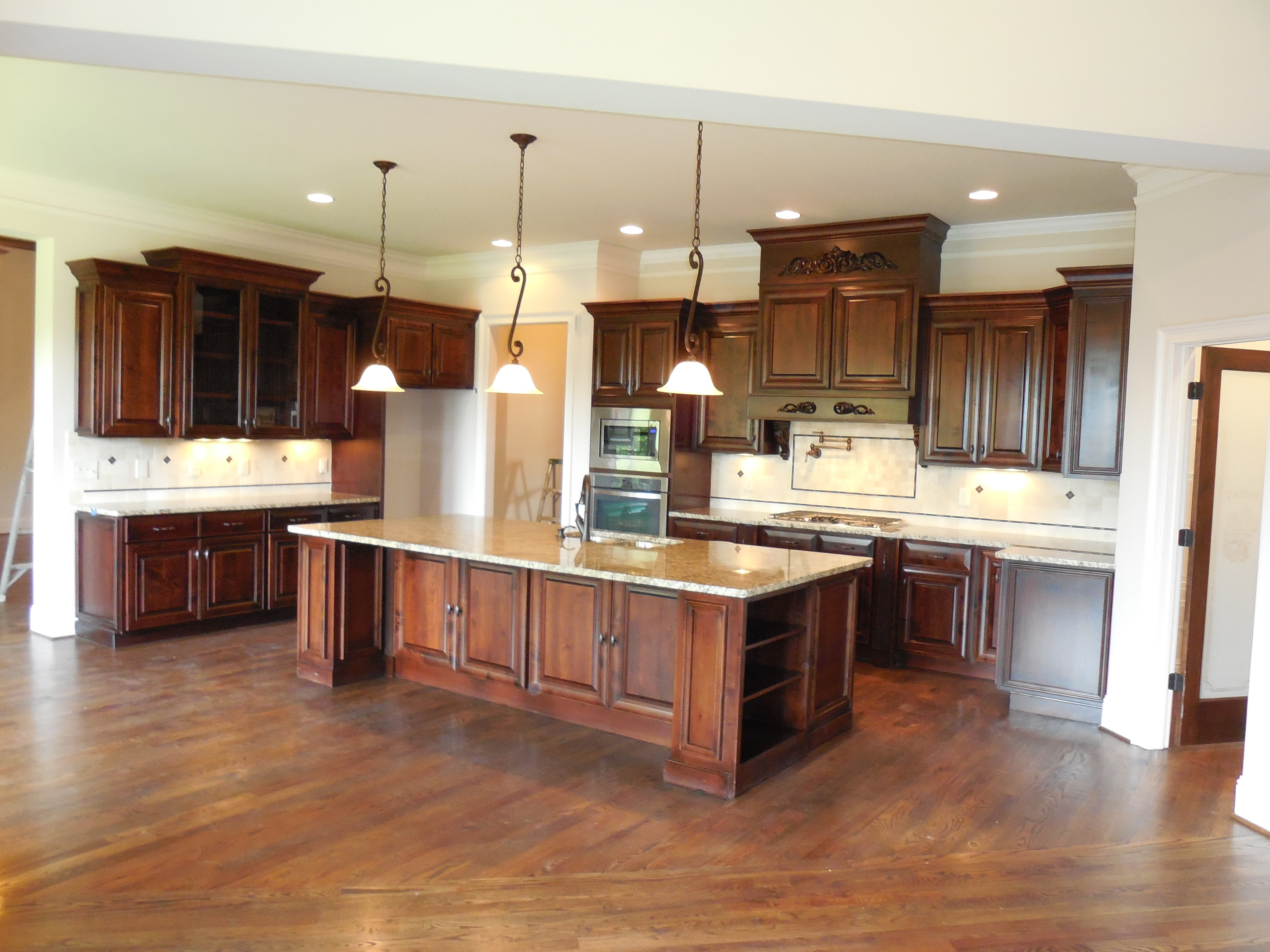 Kitchen For New Homes New Homes For Sale Flowery Branch Quailwood Grandview Estates