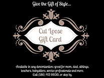 Gift Card to Cut Loose