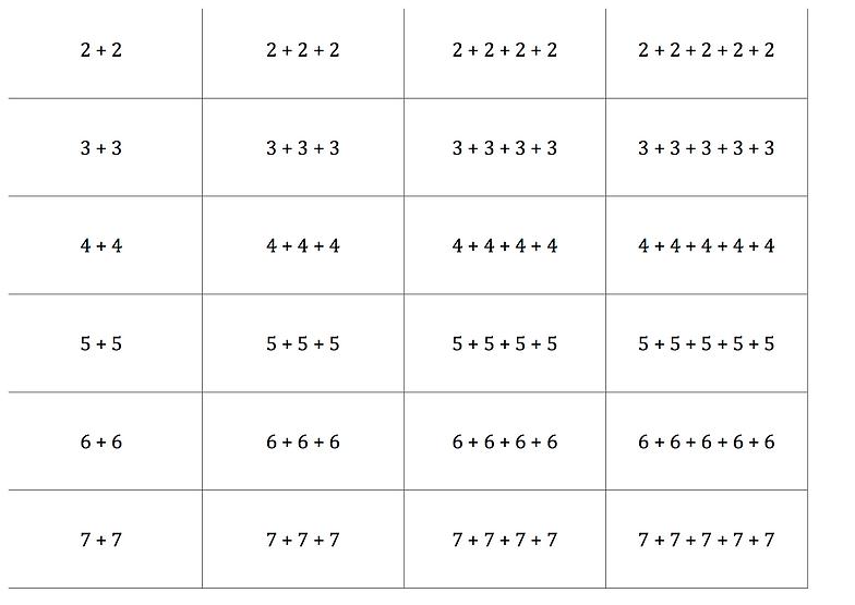 opstilling af minus regnestykker
