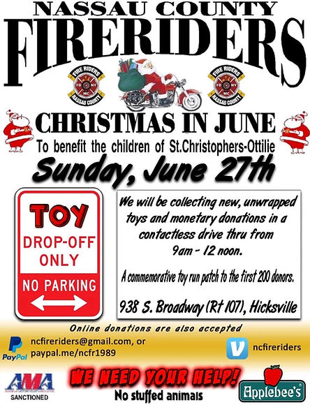 Fire Riders Christmas in June