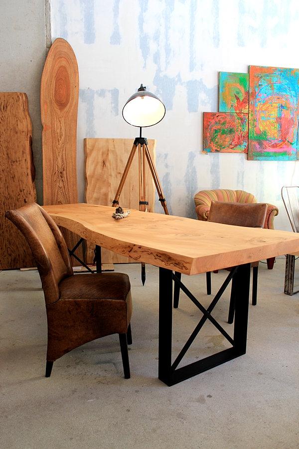 massivholztisch holztisch esstisch naturholztisch designertisch. Black Bedroom Furniture Sets. Home Design Ideas