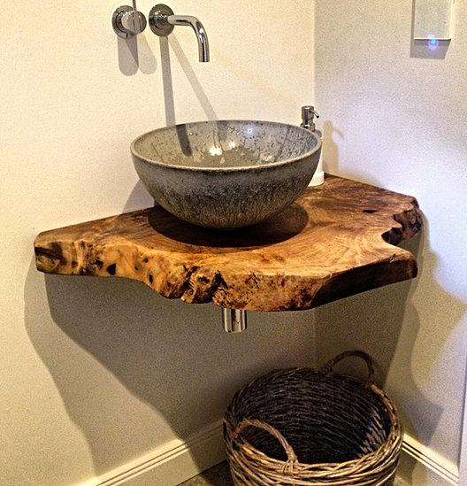 holz waschtische waschtischplatten massiv auf ma. Black Bedroom Furniture Sets. Home Design Ideas