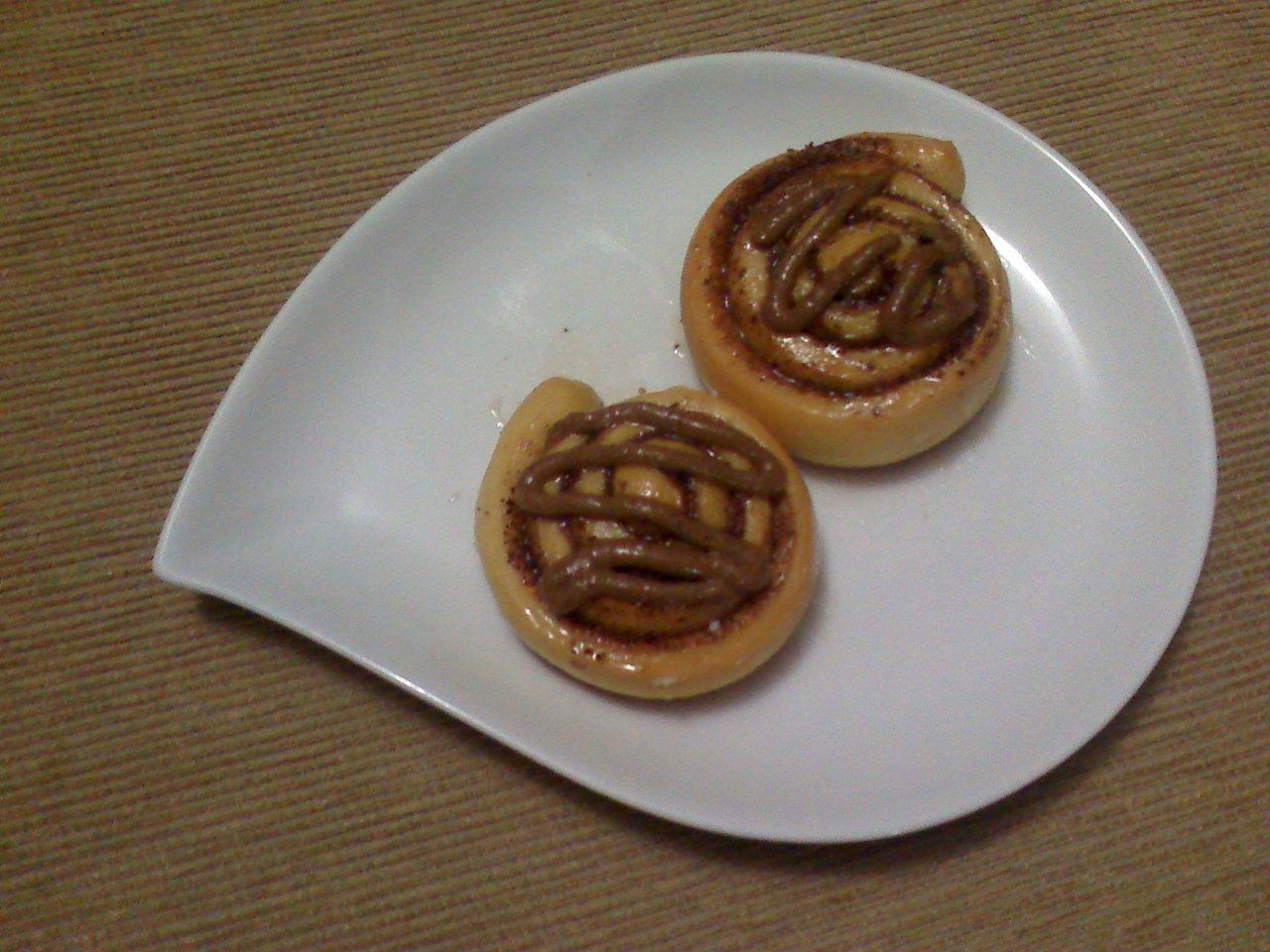 MINI CINAMON ROLLS