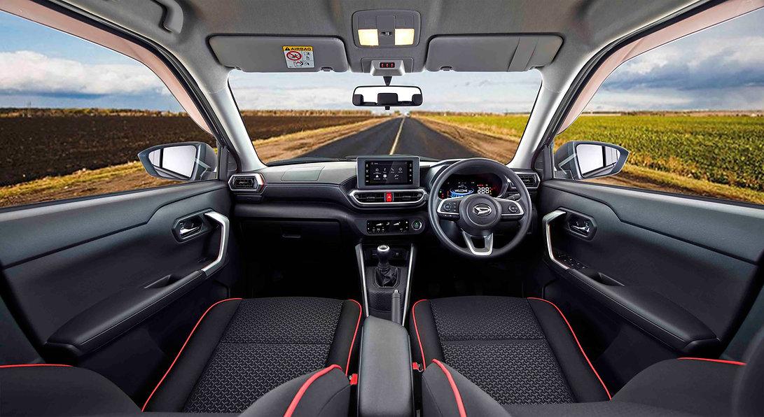 Daihatsu Rocky_2021_Interior_Dashboard M