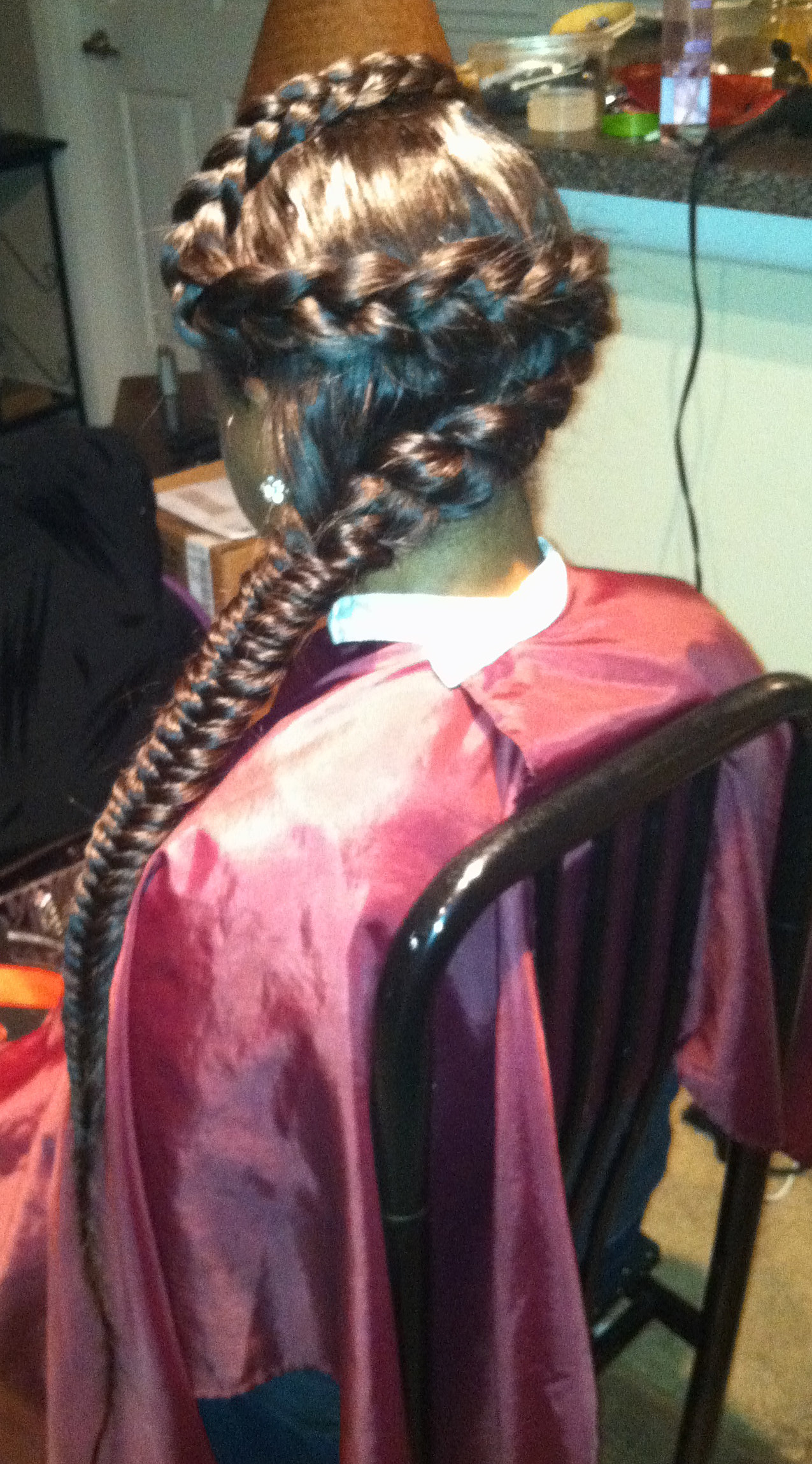 Versatile reversible sew-in (must watch ) two different looks