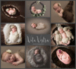 Newborn specialist photographer, cheltenham wraps, brown, dark, moody photography