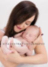Mum and new baby phot shoot