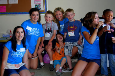 Does working as an unpaid camp councilor count as volunteering?