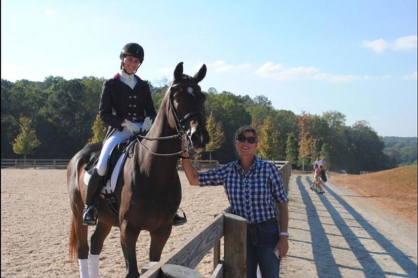 Susanne & Jana at 2012 Championships