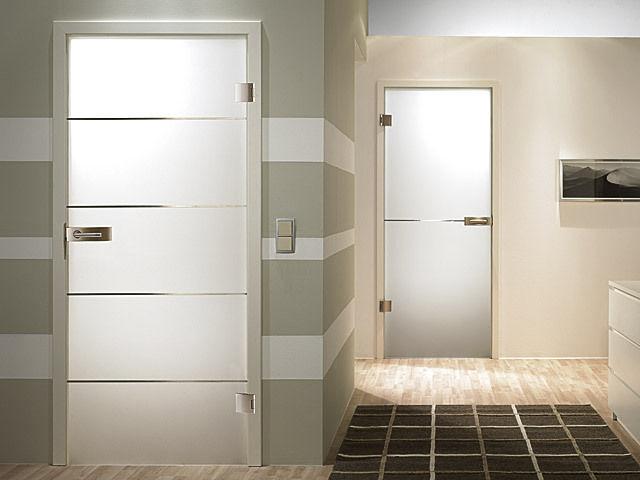 Alliaverre portes en verre design - Porte coulissante en verre opaque ...