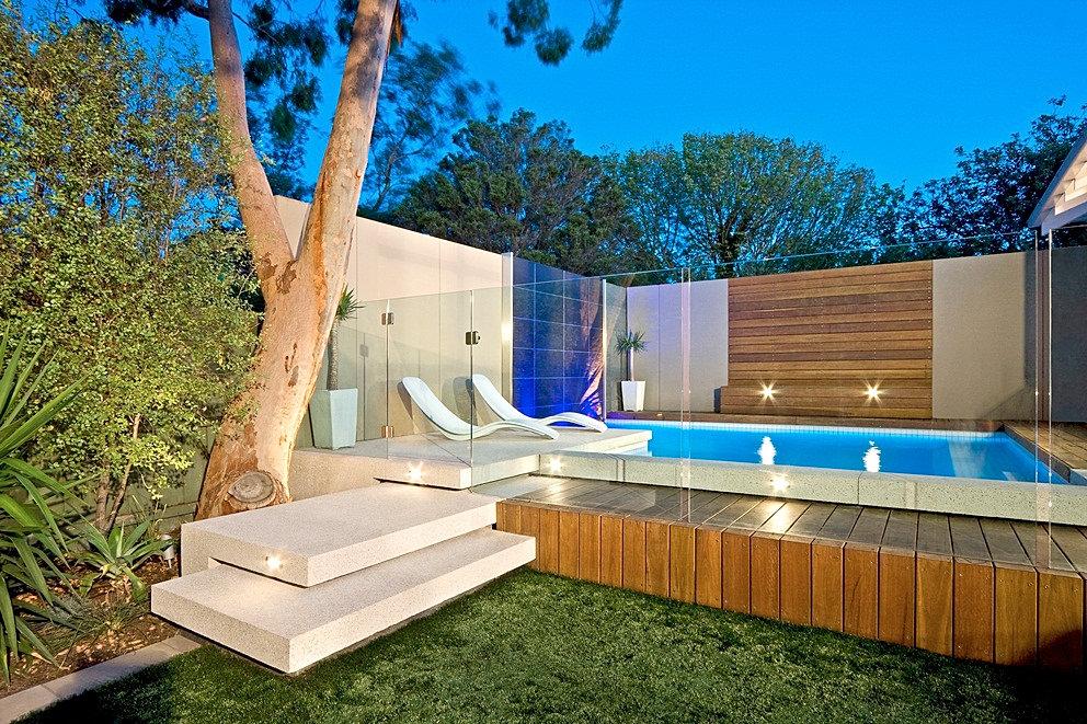 Garde corps en verre cl ture de piscine en verre for Clotures de piscine en verre