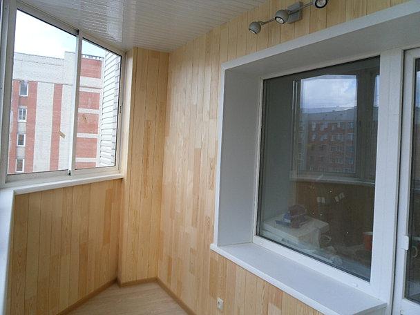 Остекление, утепление, отделка балконов и лоджий. - новосиби.