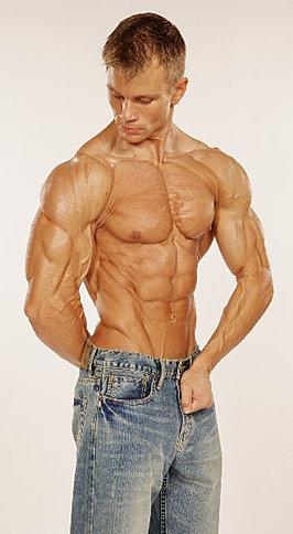 Brian Whitacre Pro Natural Bodybuilder - 2008 Photo Shoot