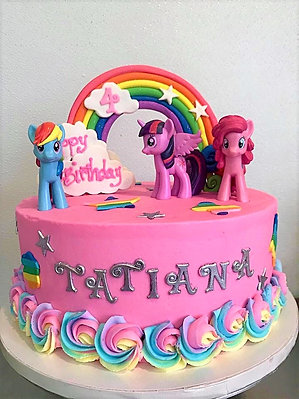 My Little Pony Sheet Cake Main Street Bakery Gift Shop Columbia Sc Kids Birthdays