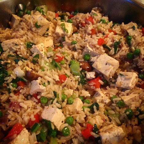 Tofu and rice recipe easy