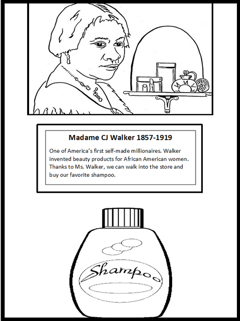 1000 images about black inventors unknown inventors on for Black inventors coloring pages