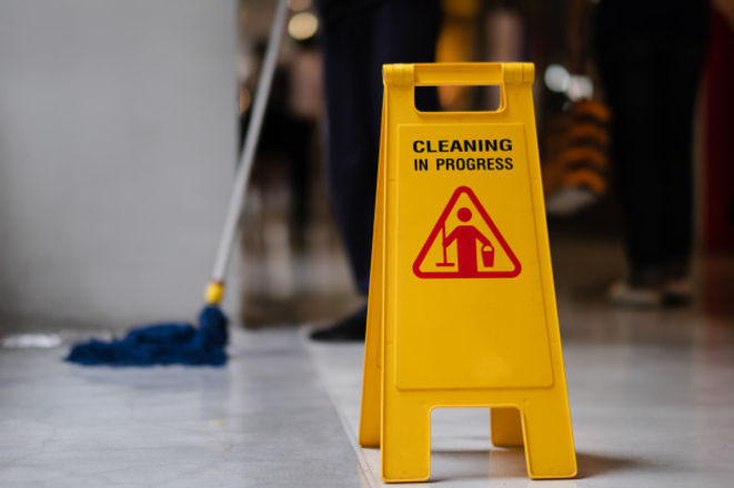 sign-showing-warning-caution-wet-floor-a