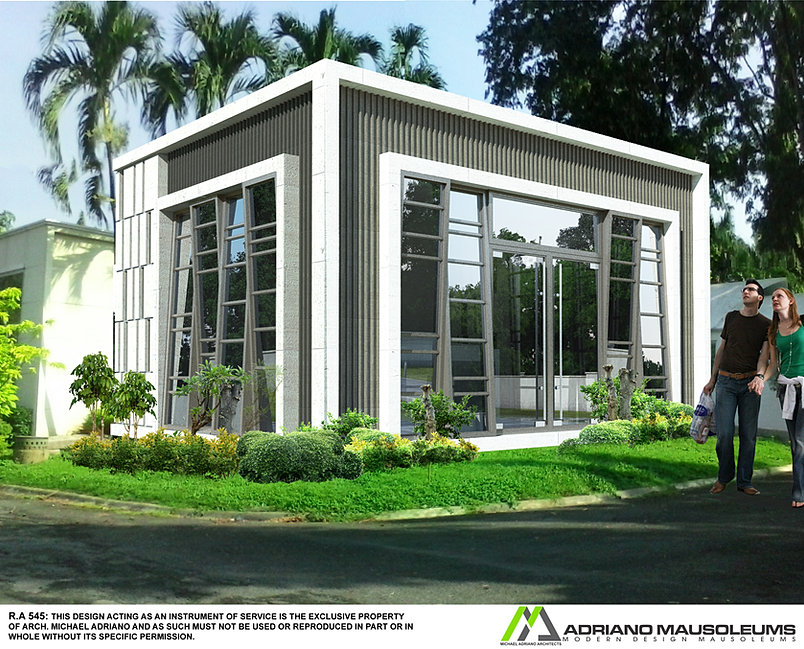 Attractive mausoleum design 2 a 24 lot mausoleum design for Being your own contractor building home