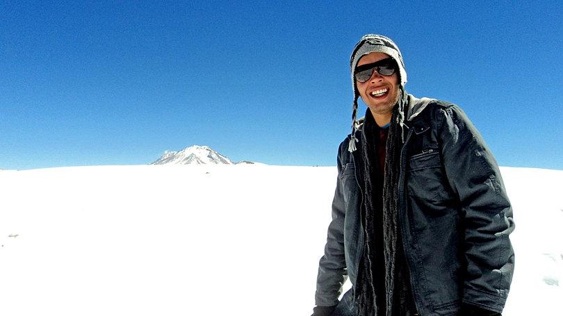 Neve na Bolívia
