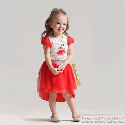 Арт 5605 Комплект на девочку 2, 3, 4, 5 лет, 92,98, 104, 110см. Калабур Кидс детская одежда