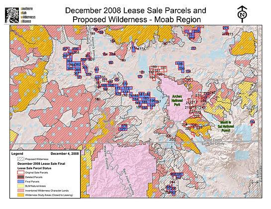 December 2008 lease parcels