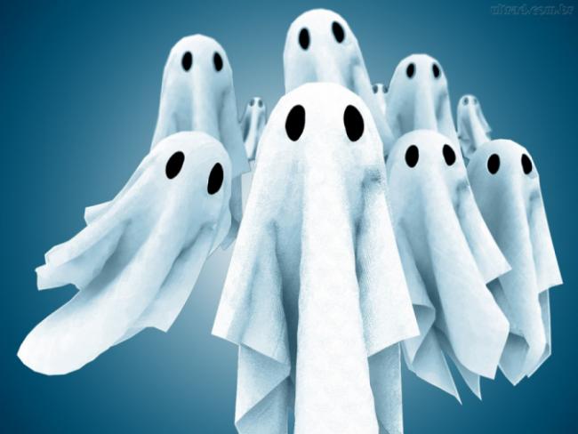 Resultado de imagem para servidores fantasmas
