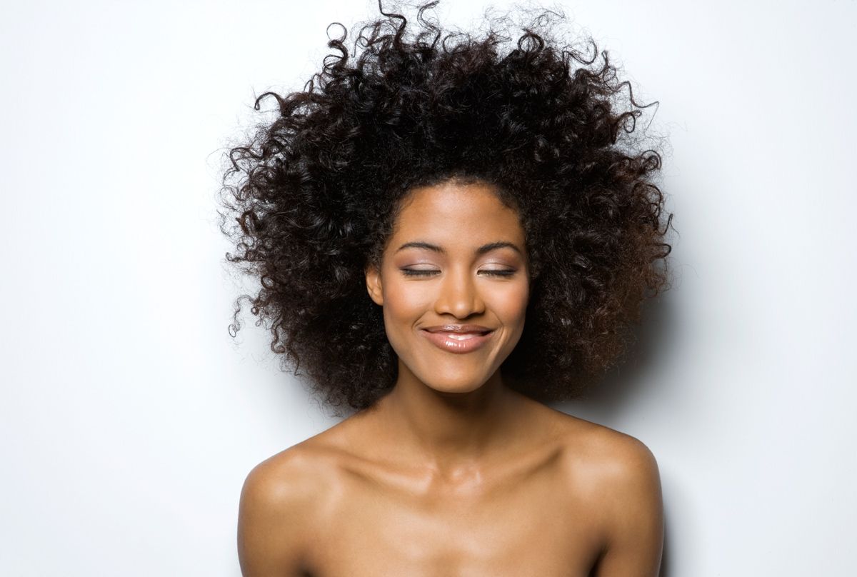 African american female angel