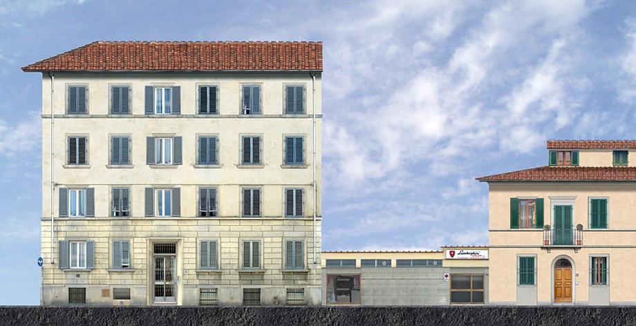 Studio di architettura galli e gueli firenze nuovo for Appartamenti design firenze