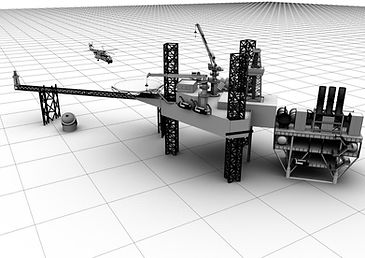 Offshore-Oilrig Simulation Project By Sa