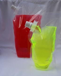 empaque de líquidos, bolsas para liquidos