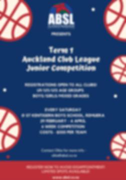 Term 1 Auckland Club League Junior Compe