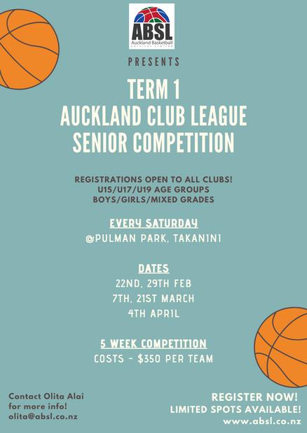Auckland Club League Senior Competition