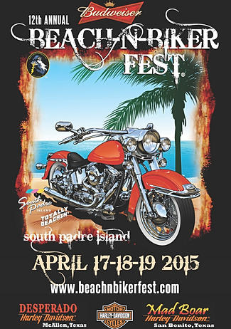 beach n bikerfest South Padre Island TX biker bar bikefest motorcycles