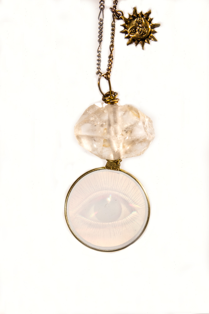 Ether - HERKIMER DIAMOND THIRD EYE