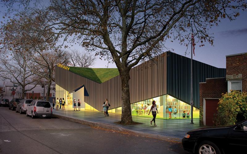 Kew Gardens Hills Library