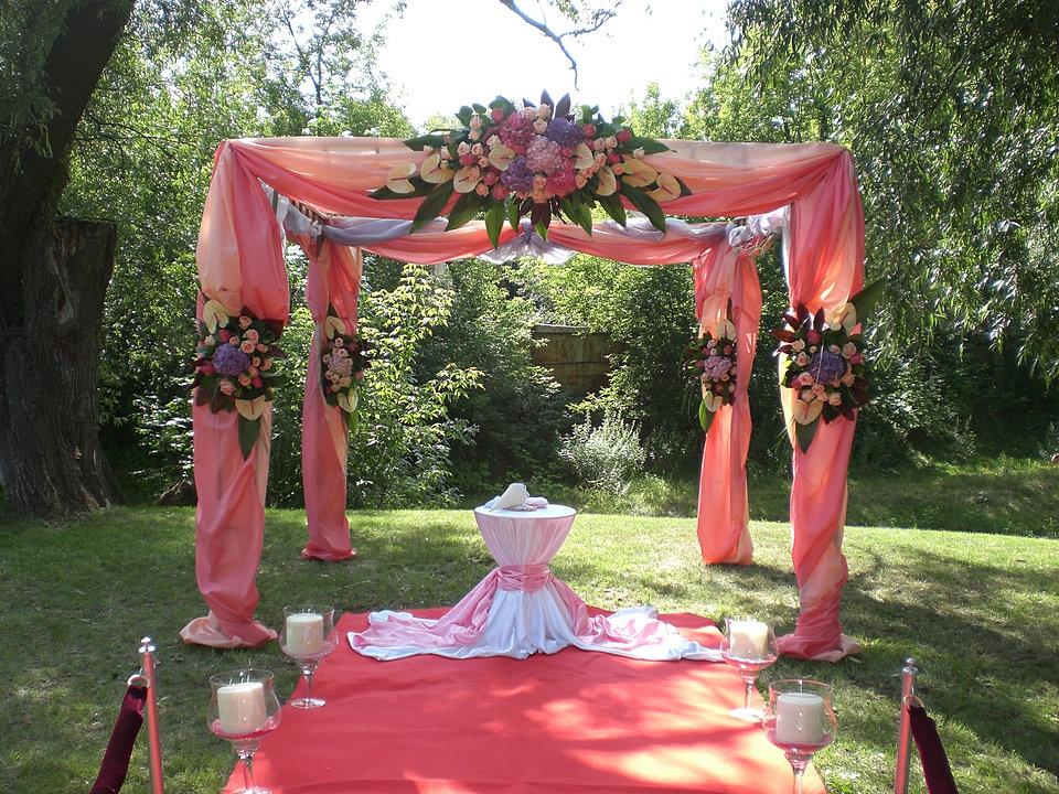 Украшение свадьбы своими руками примеры