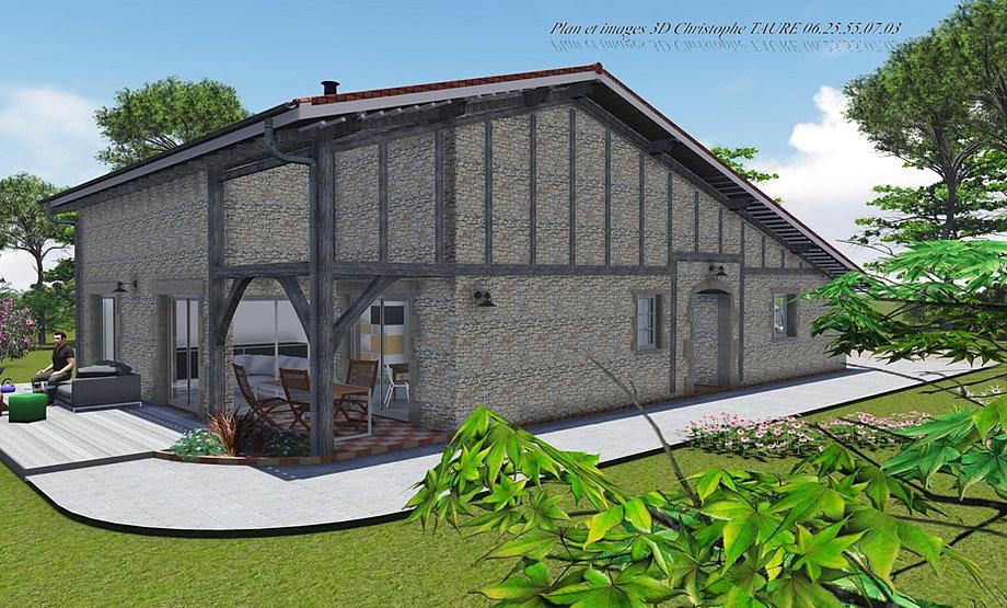 Permis de construire maison individuelle for Plan maison landaise
