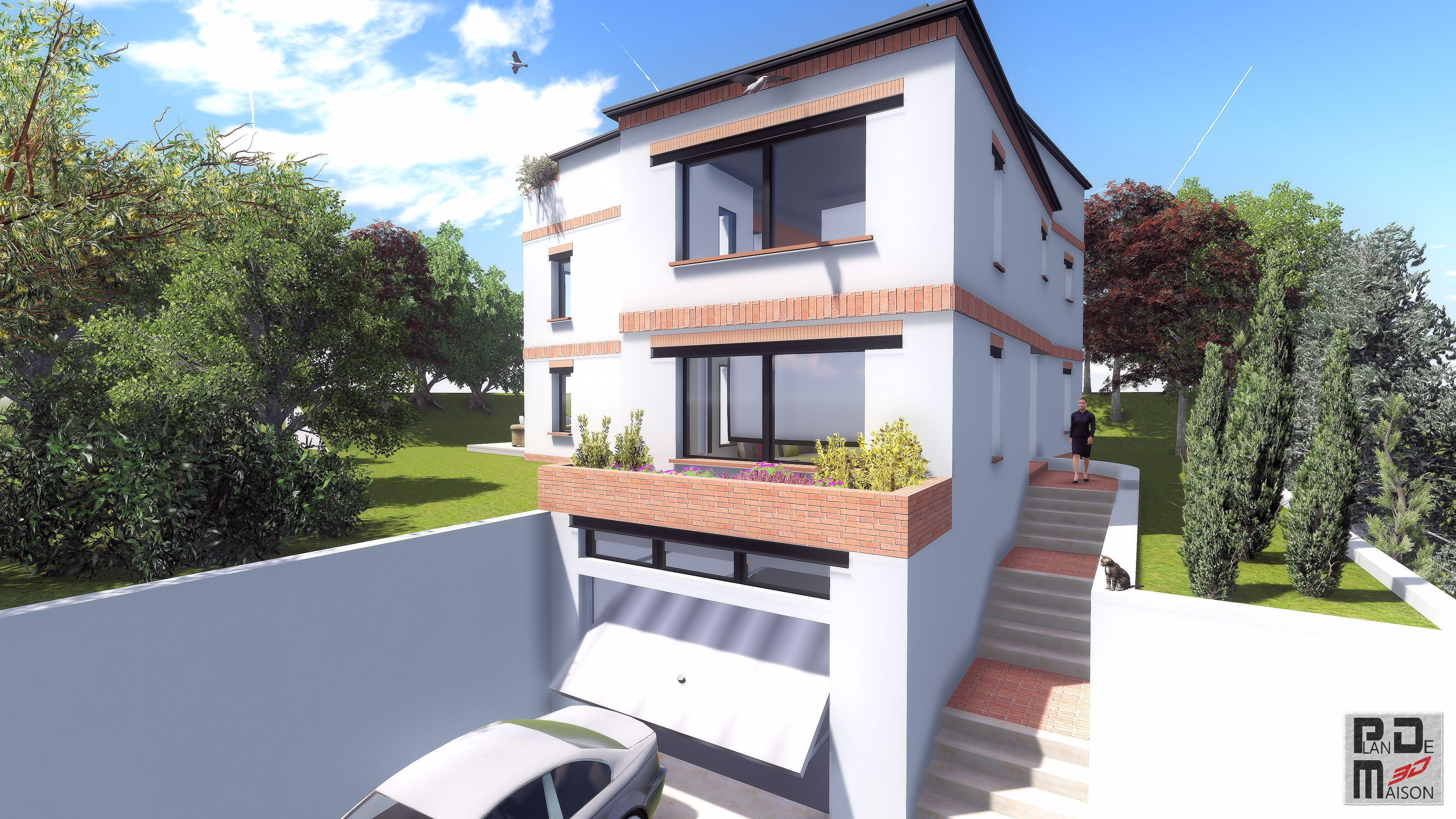 Image maison 3d permis de construire plan maison 3d for Construire maison 3d