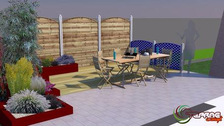 Plan 3d terrasse images for Jardin 3d mac