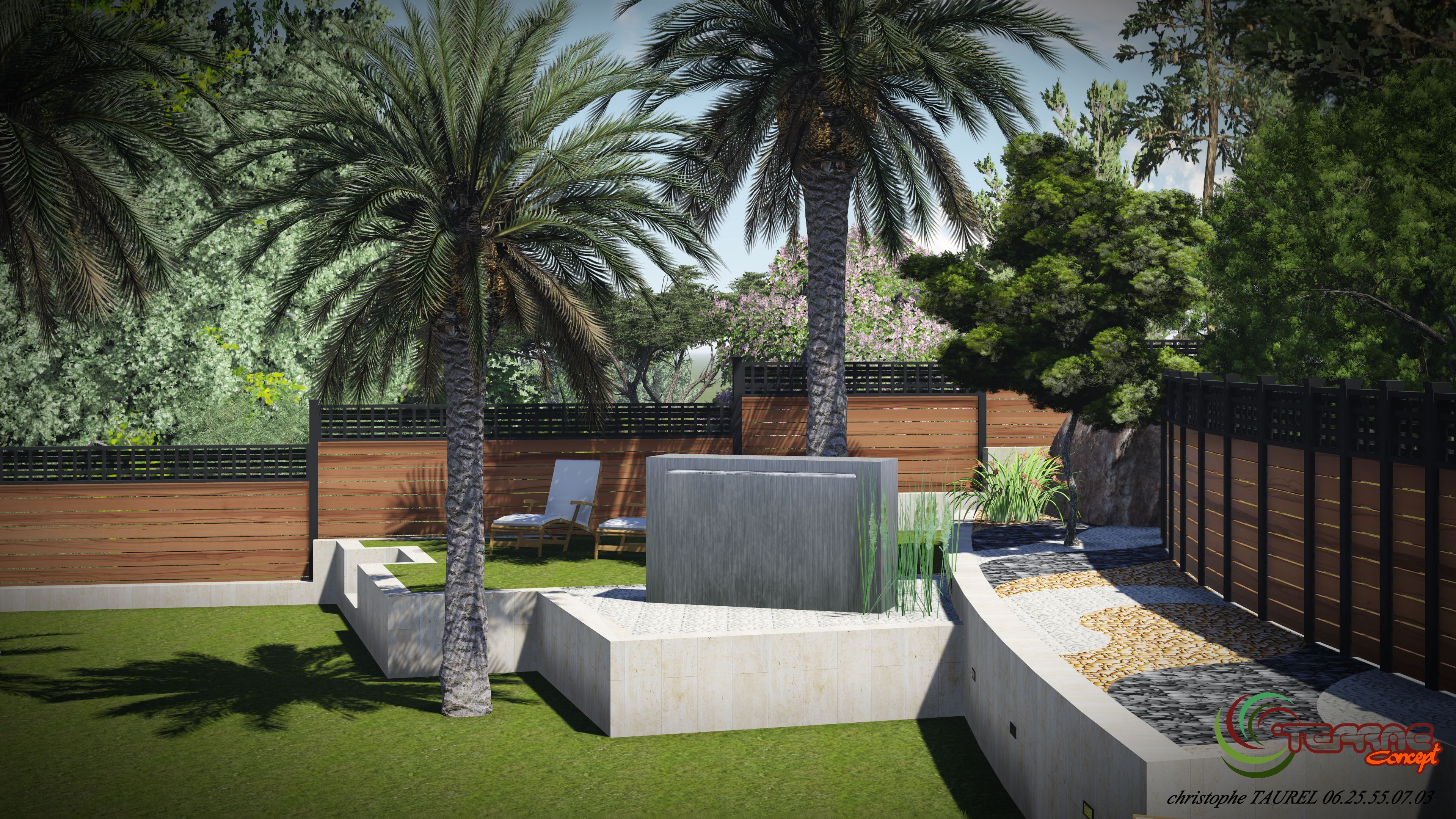 Image maison 3d permis de construire plan maison 3d for Jardin de maison design