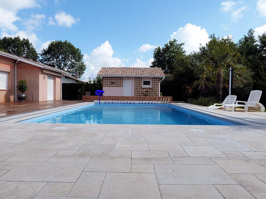 Pool house cuisine d 39 t sur mesure plan de maison 3d - Plan cuisine d ete ...