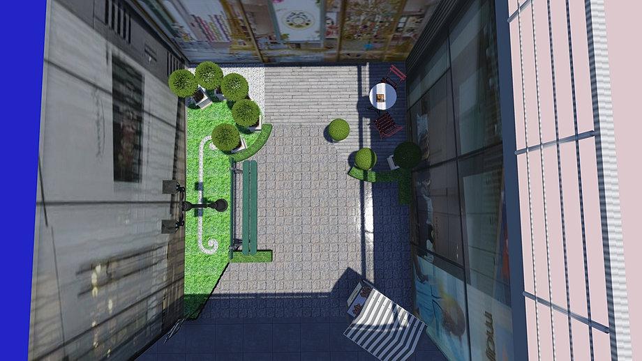 Plan de jardins 3d piscine et jardin architecture du paysage for Architecte jardin 3d