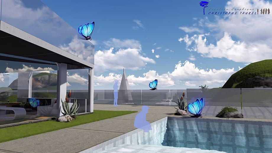 Plan de jardins 3d piscine et jardin architecture du paysage for Dessinateur paysagiste