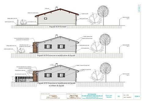 Exemple notice permis de construire for Permis de construire surface