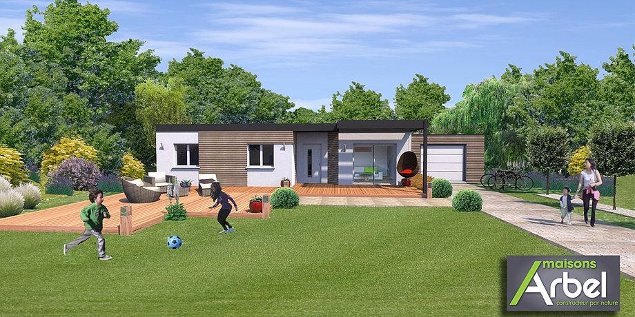 Plan pour permis de construire - Jardin de maison design ...