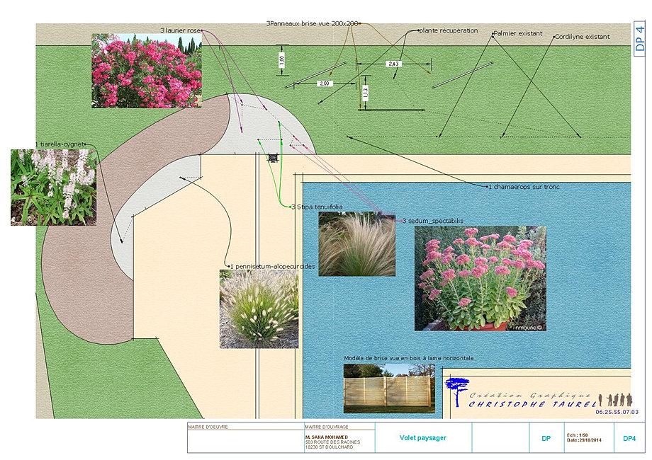 Plan de jardins 3d piscine et jardin architecture du paysage for Plan de jardin 3d