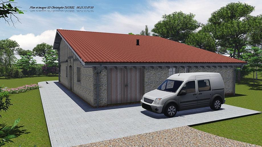 Permis de construire maison individuelle for Plan ancienne maison
