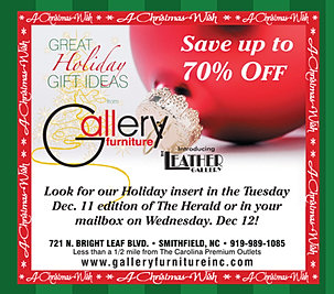 Gallery Furniture Holidays