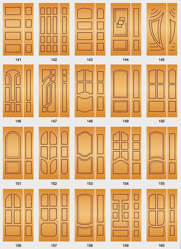 фрезеровка входной двери