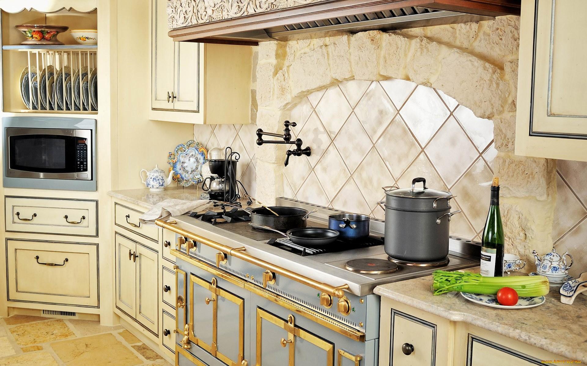 Дизайн интерьера красивая кухня